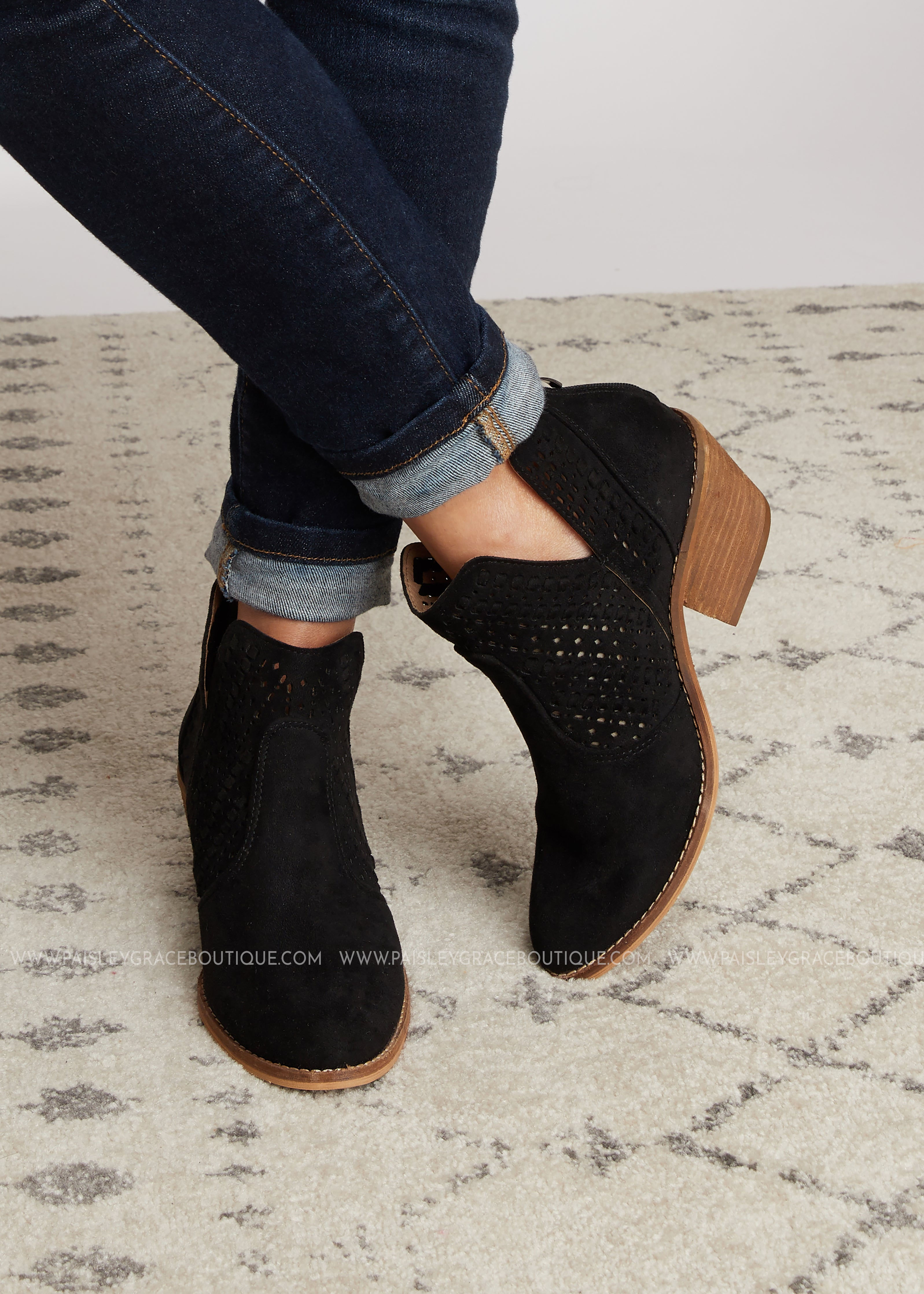 Katalla Bootie by Corkys-BLACK