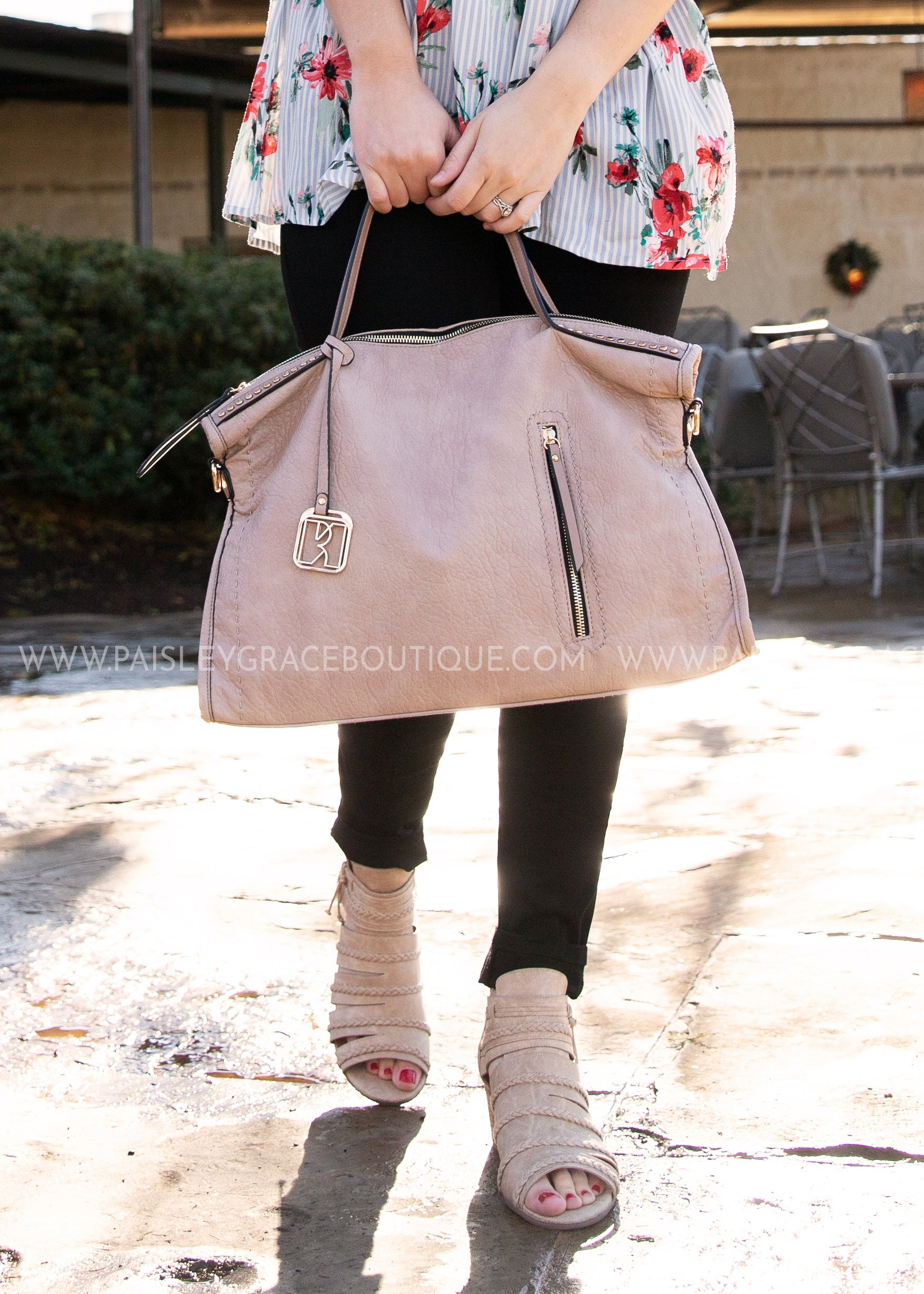 Keep It Chic Purse- BLUSH- RESTOCK