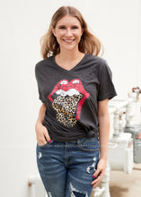 Load image into Gallery viewer, Rolling Stone Leopard Tee