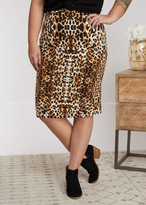 Be Fierce Pencil Skirt - FINAL SALE