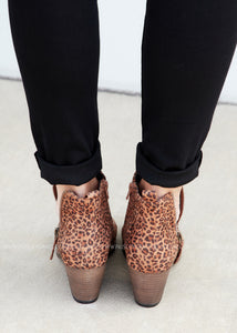 Tombstone Booties by Corkys- LEOPARD