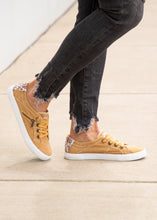 Load image into Gallery viewer, Fruit Sneaker- MUSTARD
