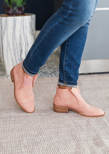 Ellison Bootie-BLUSH - FINAL SALE