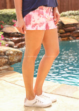 Load image into Gallery viewer, Cammy Tie Dye Shorts-Rose  - FINAL SALE