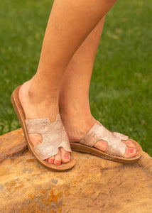 Blaire Sandal by Corkys-CHAMPAGNE  - FINAL SALE