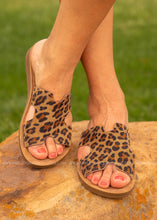 Load image into Gallery viewer, Blaire Sandal by Corkys-LEOPARD  - FINAL SALE