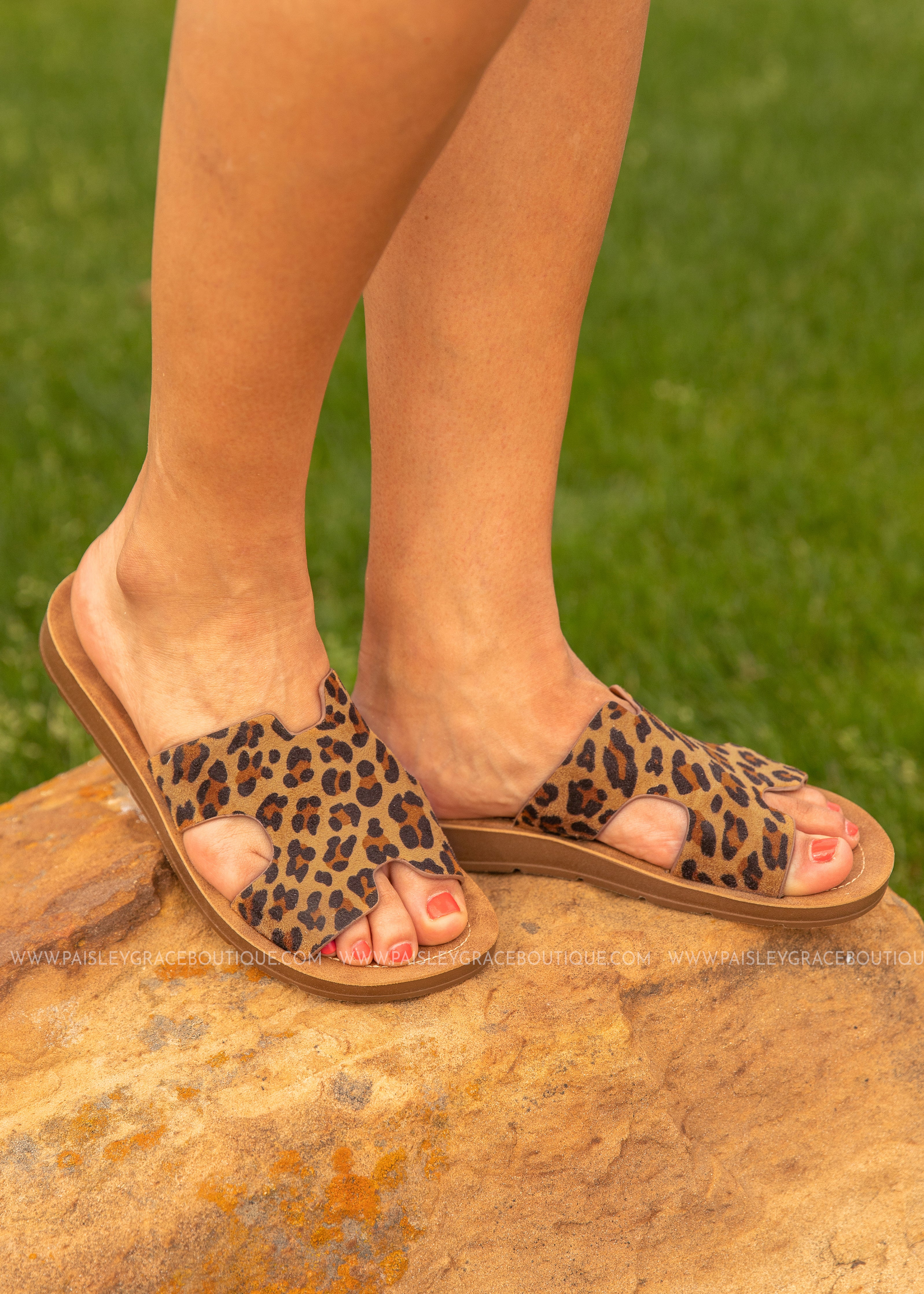 Blaire Sandal by Corkys-LEOPARD  - FINAL SALE