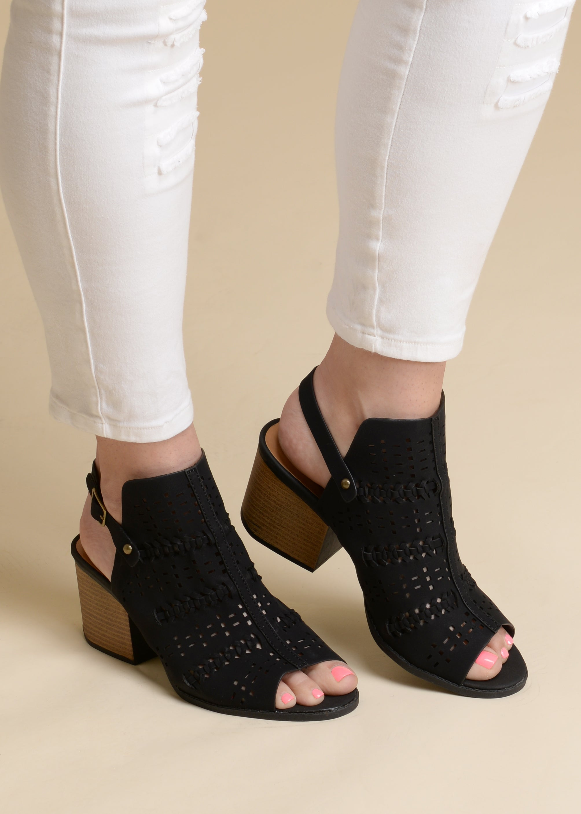 Milagro Booties - BLACK