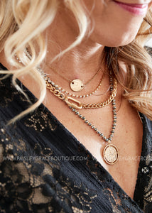 Multi-Layer Coin Necklace