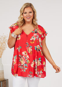 Carefree Days Top - FINAL SALE