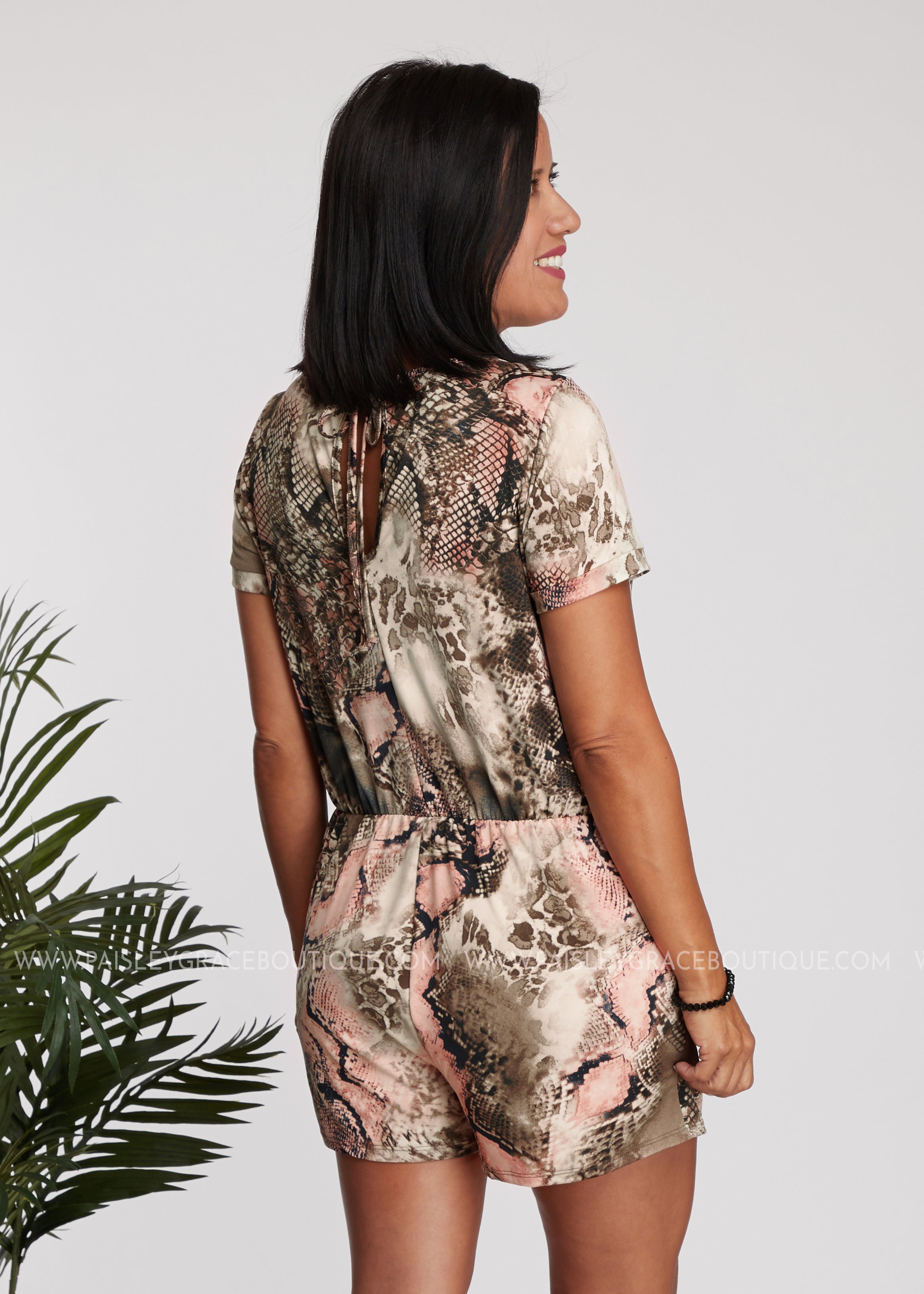 So Charming Romper - FINAL SALE