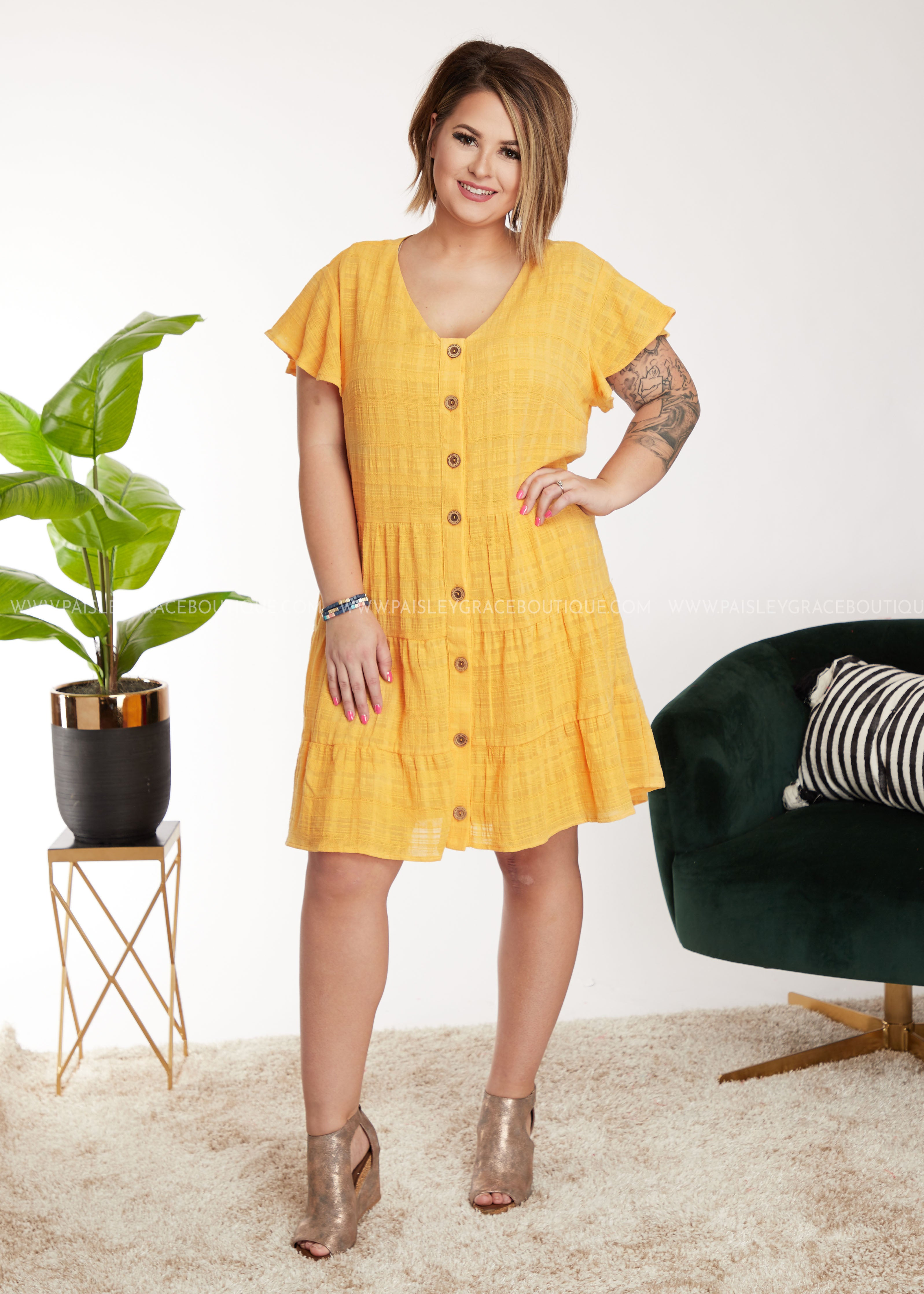 Girl Next Door Dress - FINAL SALE