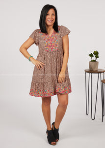 Going Global Embroidered Dress-RESTOCK  - FINAL SALE