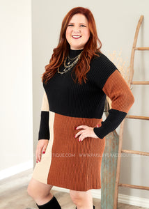 Meant to Be Sweater Dress