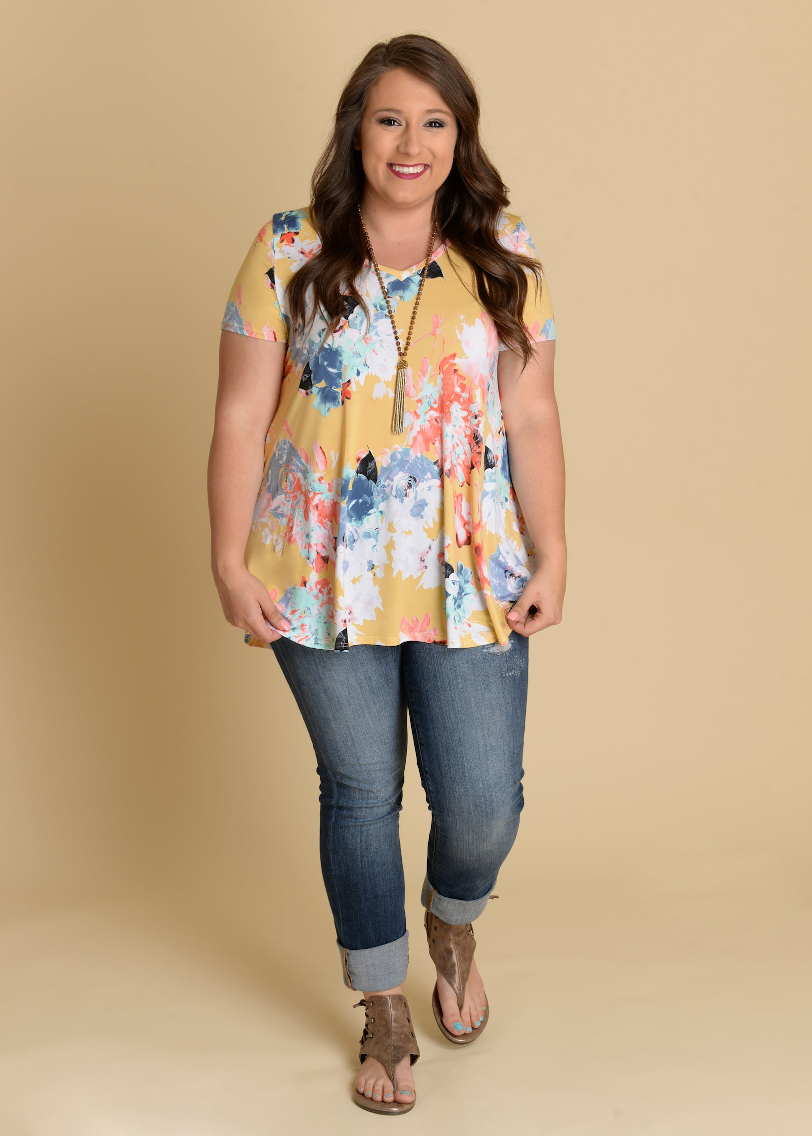Hello Sunshine Top-RESTOCK