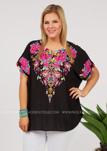 Best In Bloom Embroidered Top