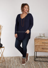Load image into Gallery viewer, Kendra Top- NAVY