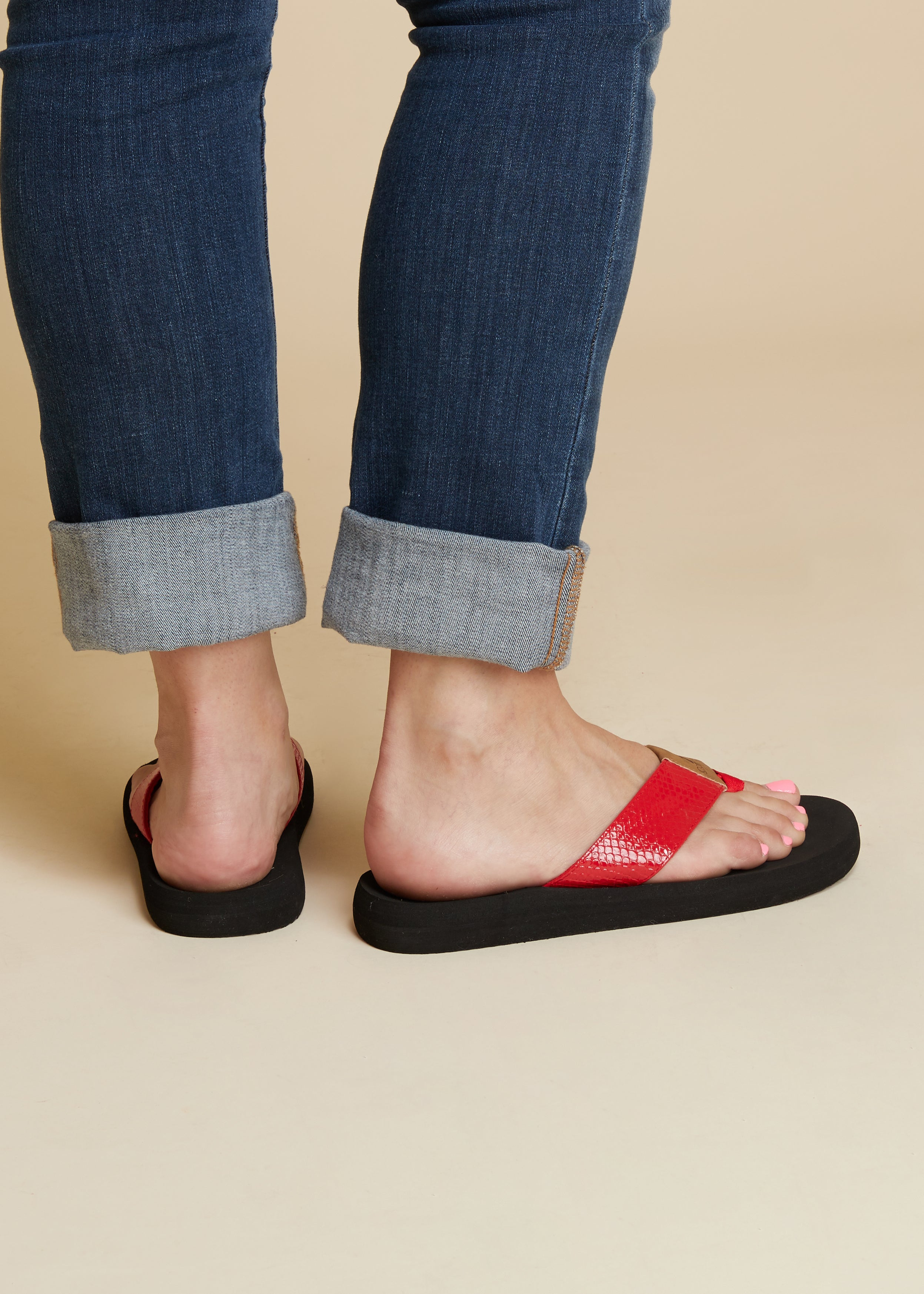 Royal Flip Flop by Corkys-RED-RESTOCK!