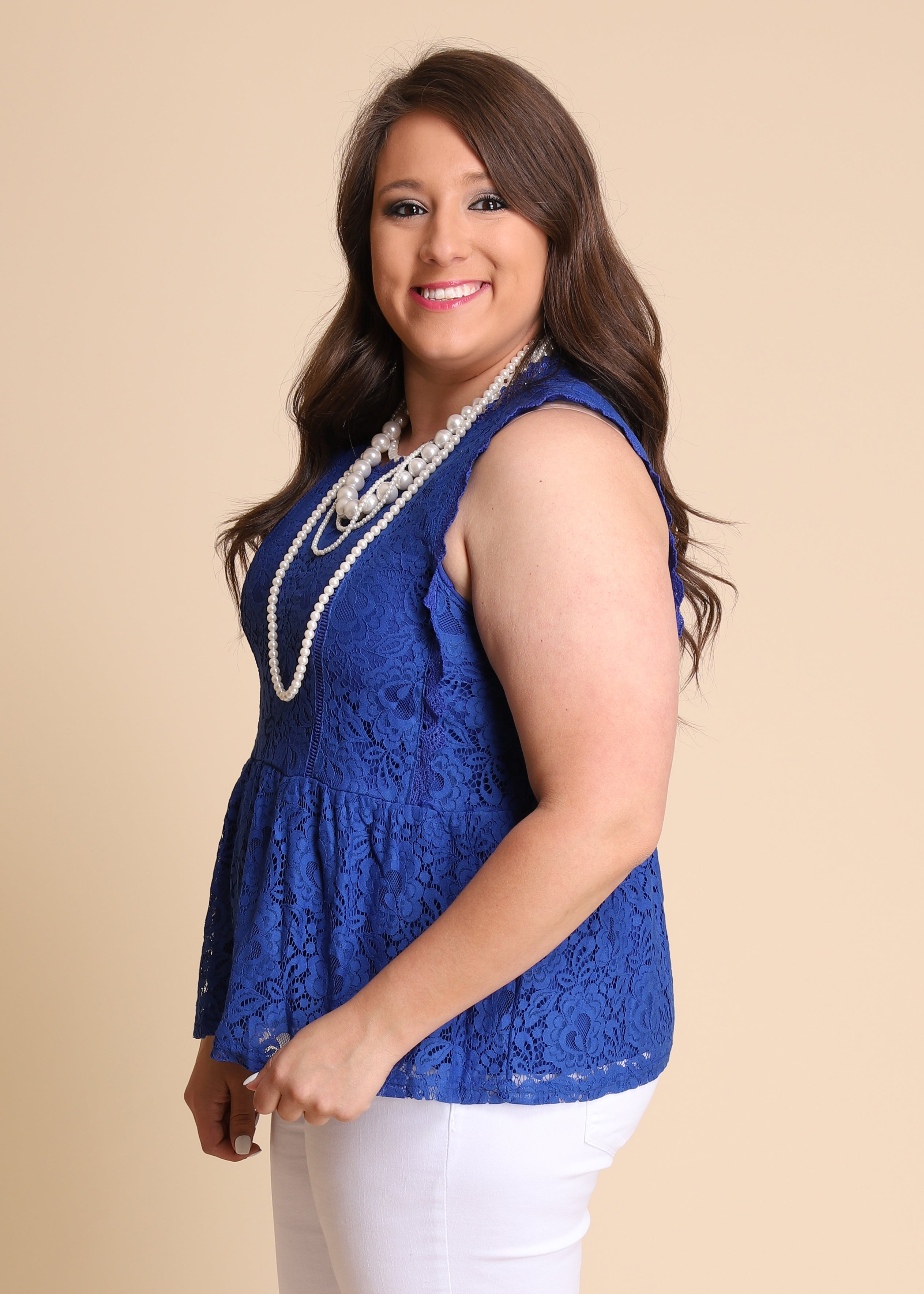 Royally Yours Lace Top FINAL SALE