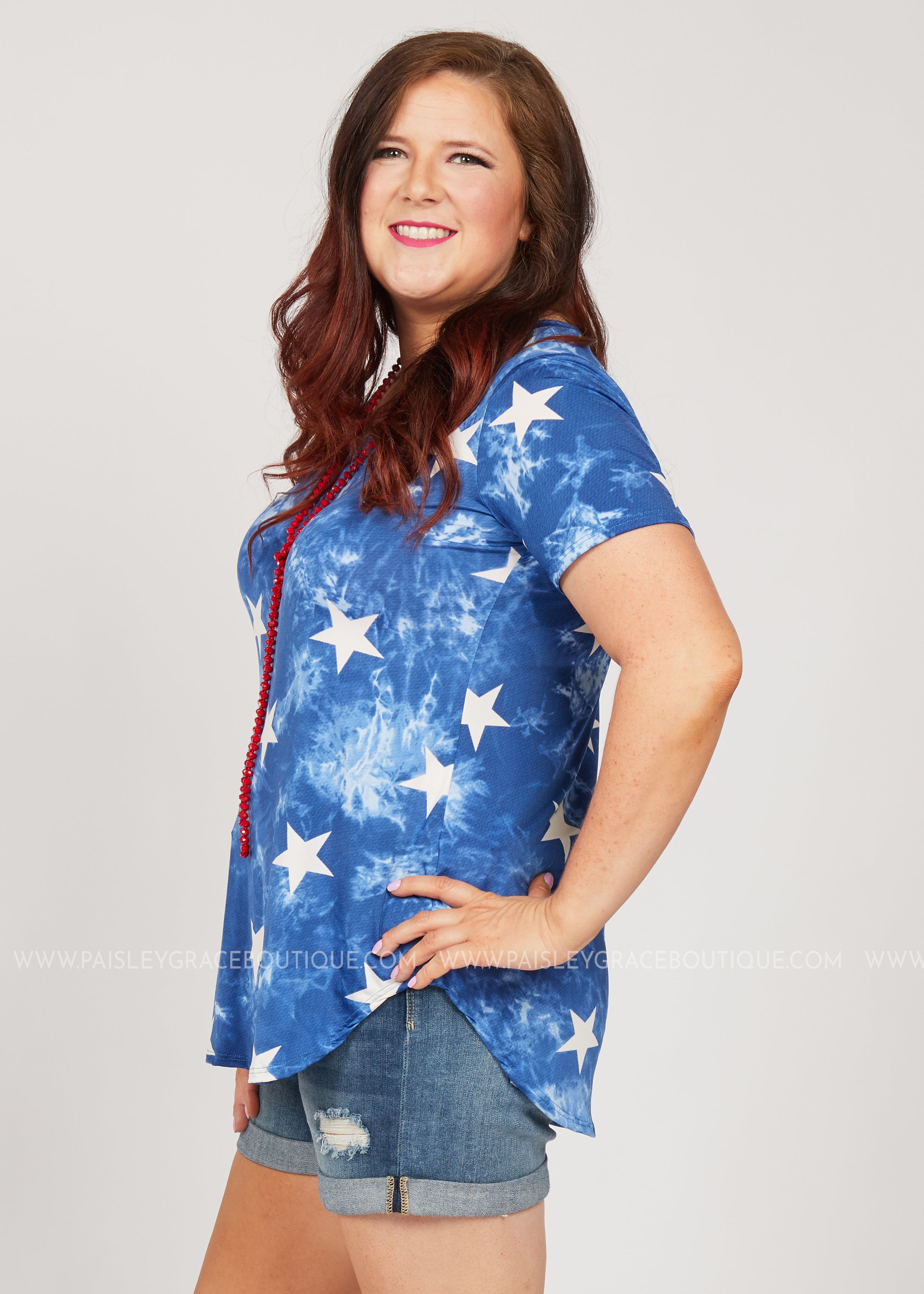 All Star Top- BLUE - FINAL SALE