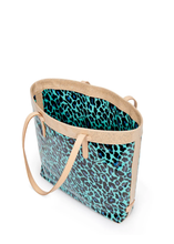 Load image into Gallery viewer, Slim Tote- Ocean Jag By Consuela