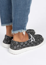 Load image into Gallery viewer, Holly Slip-On Sneaker-Black Floral