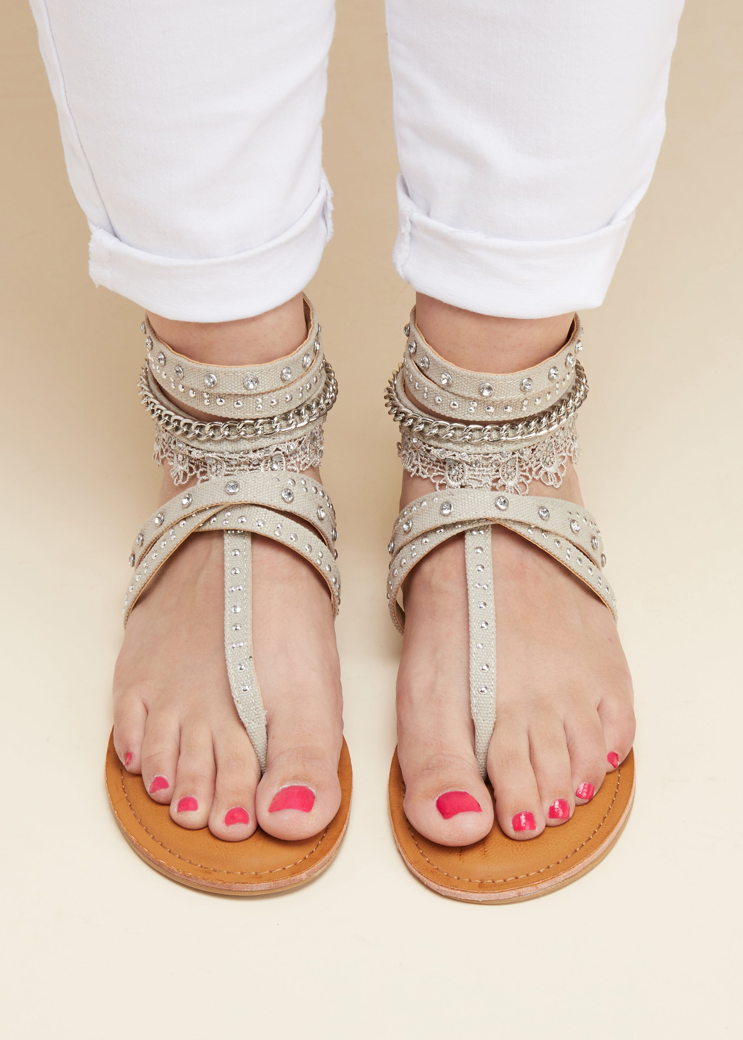 Soho II Sandals - TAUPE-FINAL SALE