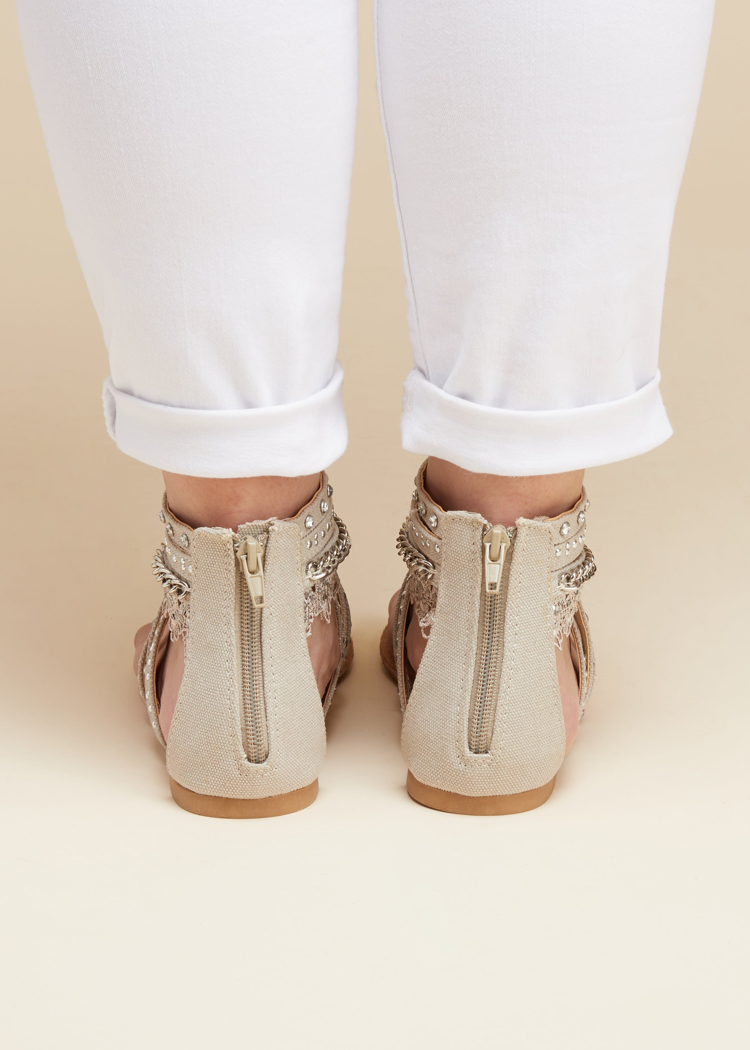 Soho II Sandals - TAUPE