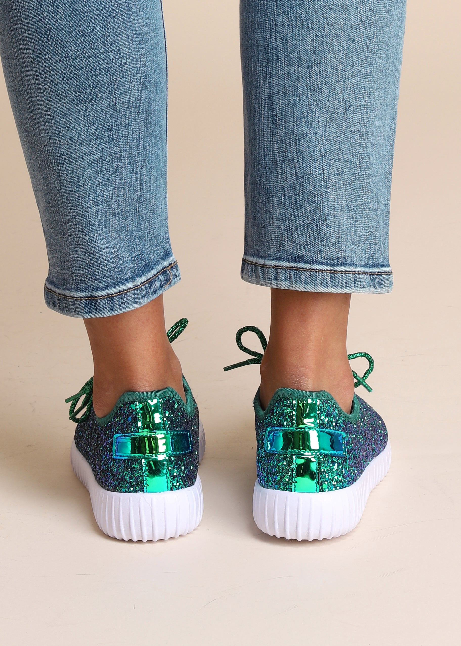 Starstruck Sneaker - AQUAMARINE GREEN - FINAL SALE