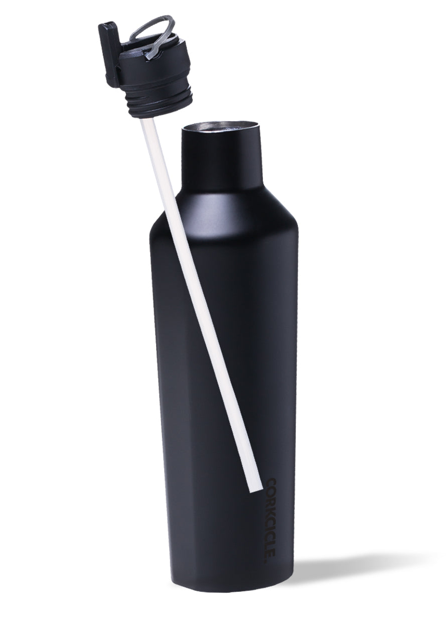 Canteen cap with straws- By Corkcicle