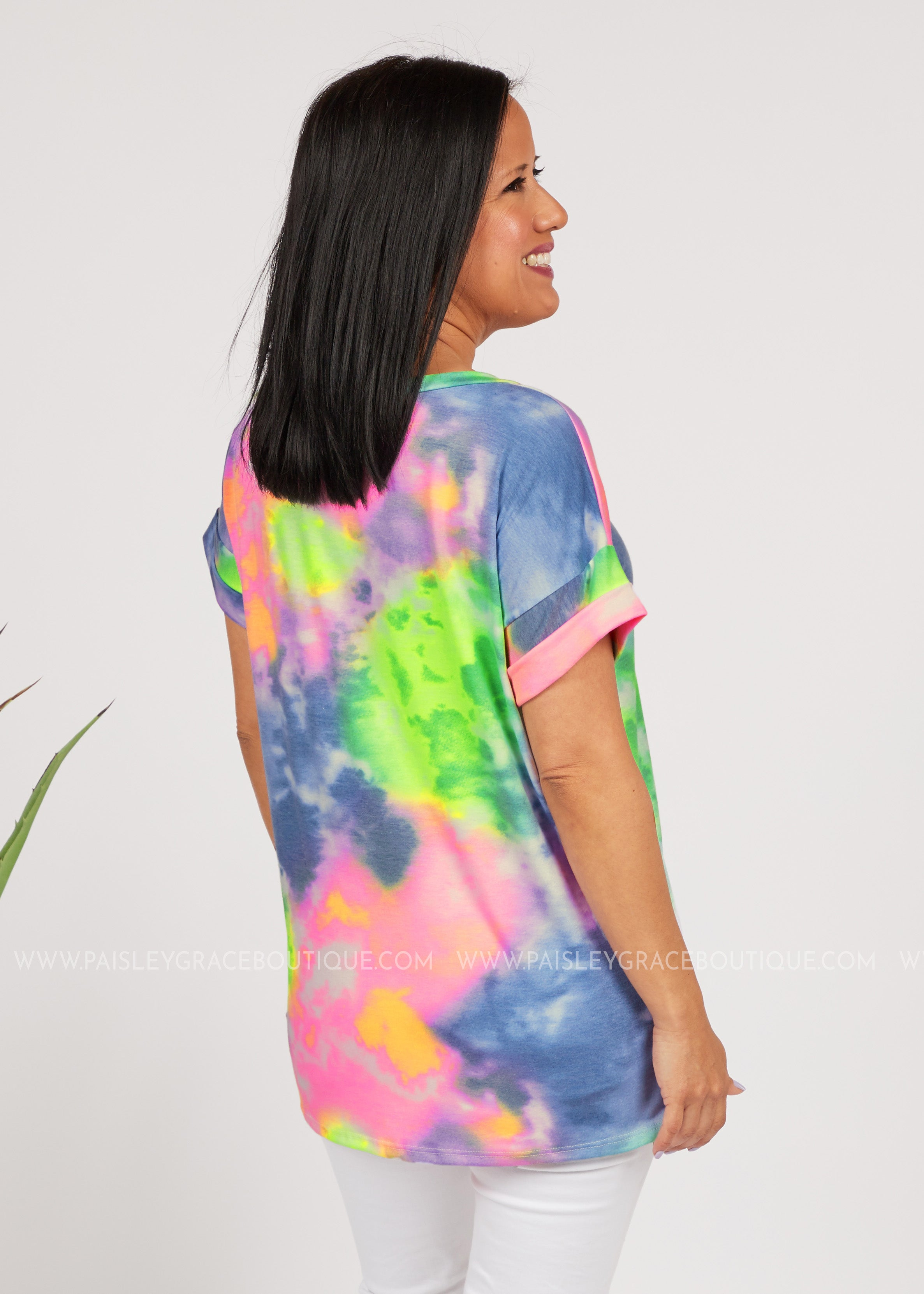 Basic Needs Tee-TIEDYE  - FINAL SALE