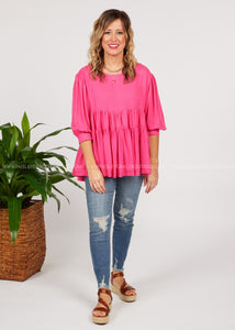 Live Fashionably Top  - FINAL SALE