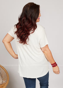 At Every Angle Top-WHITE - FINAL SALE