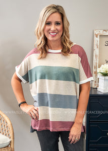 Sweeter In Stripes Top