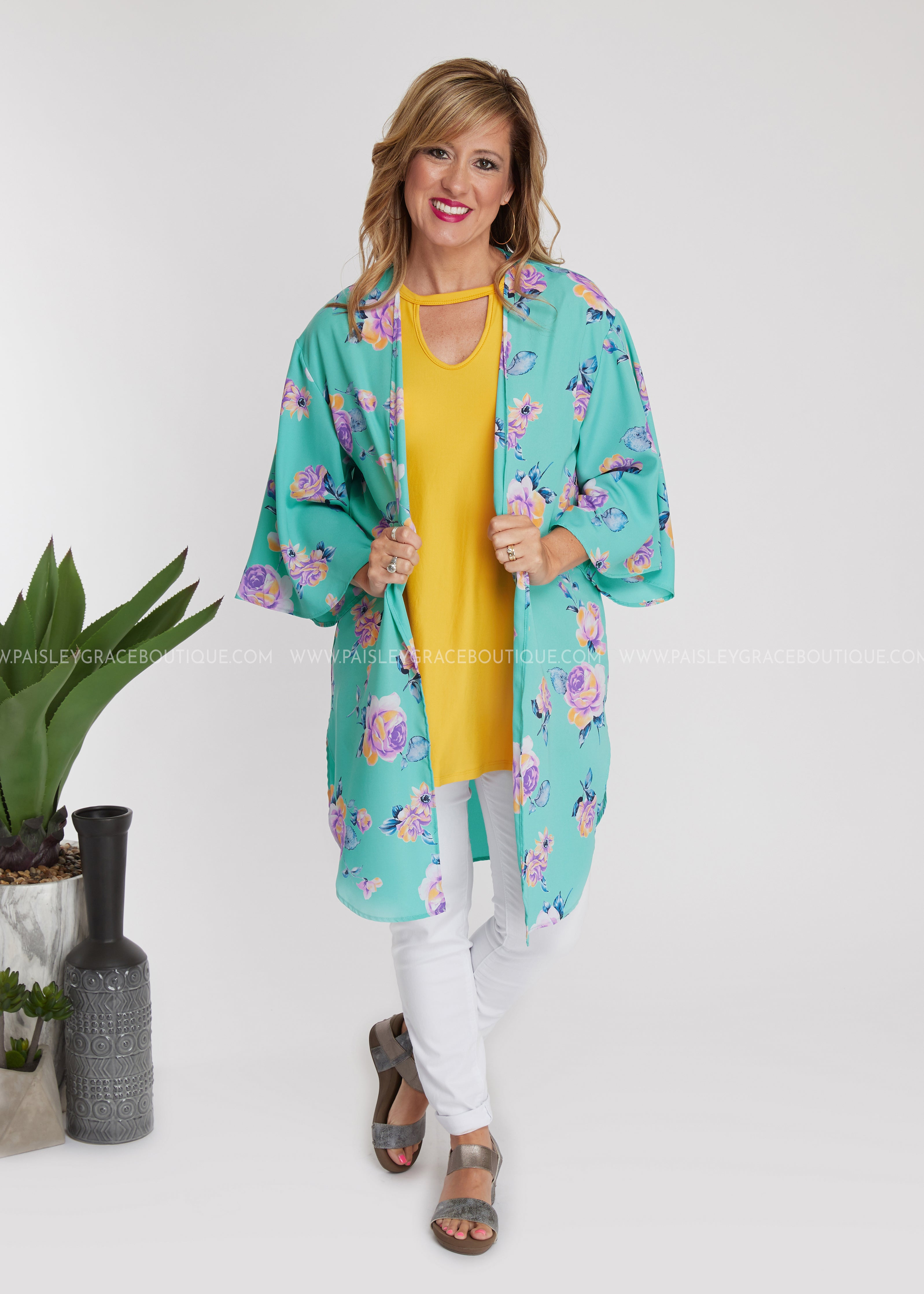 Gone For Summer Kimono - FINAL SALE