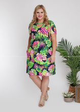 Load image into Gallery viewer, Tropic Like It's Hot Dress - FINAL SALE
