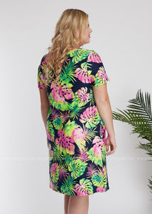 Tropic Like It's Hot Dress - FINAL SALE