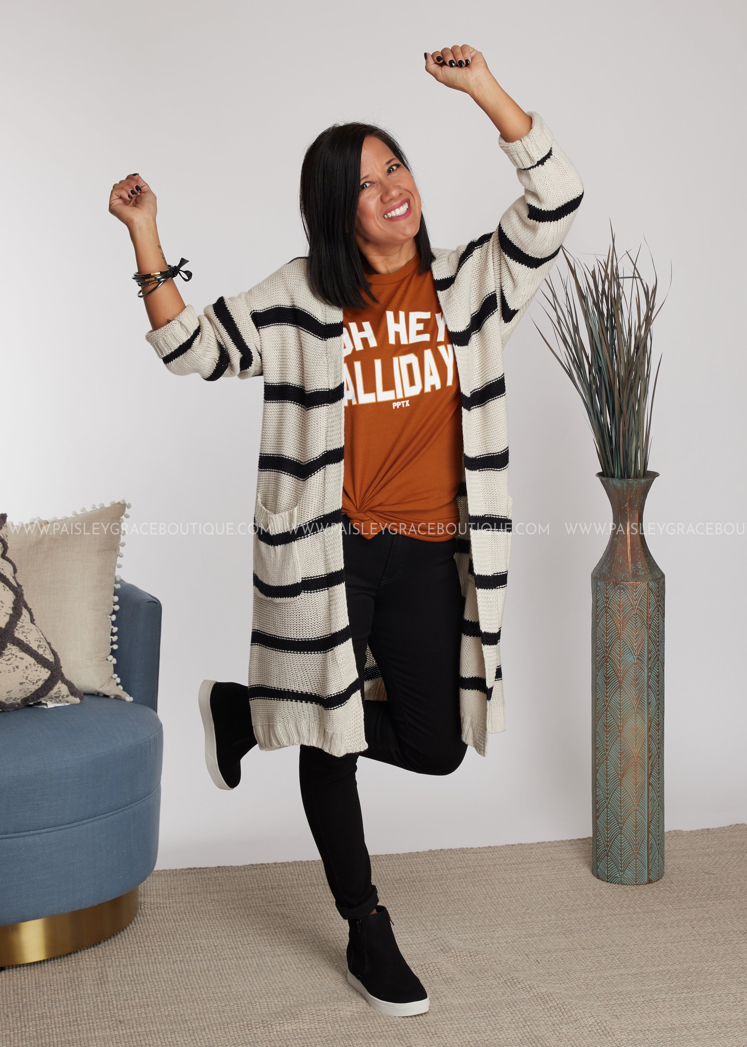 Rumor Has It Cardigan- OFF-WHITE