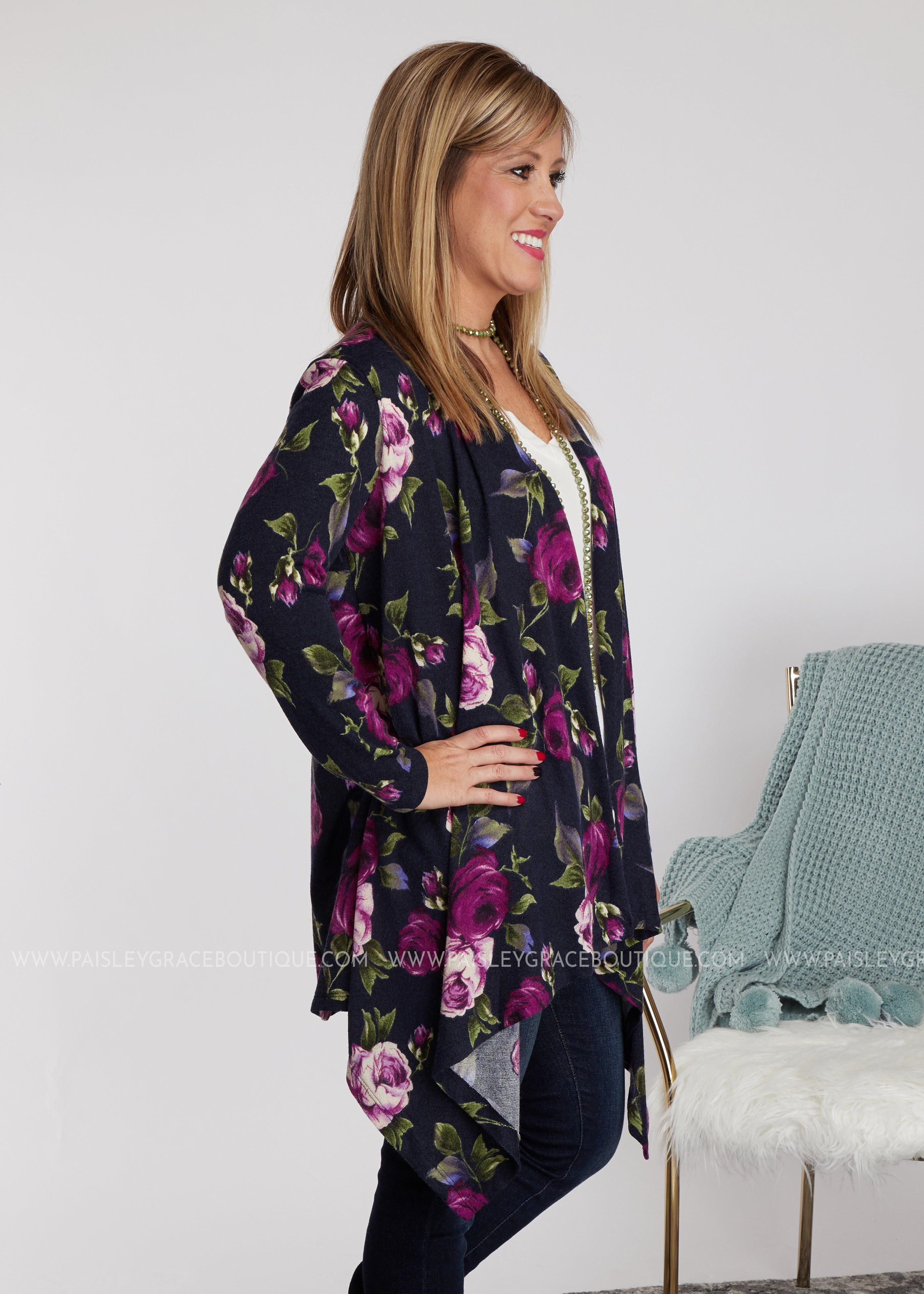 Time to Bloom Cardigan