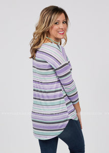 Align With Me Top-PURPLE - FINAL SALE