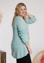 Load image into Gallery viewer, Laced With Love Sweater-ICE BLUE - FINAL SALE