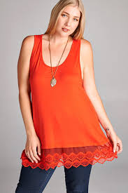 Emory Tunic Extender - ORANGE-FINAL SALE