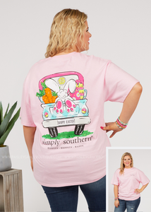 Happy Easter Tee by Simply Southern - FINAL SALE