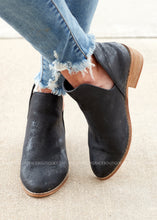 Load image into Gallery viewer, Wayland Booties by Corkys- BLACK METALLIC