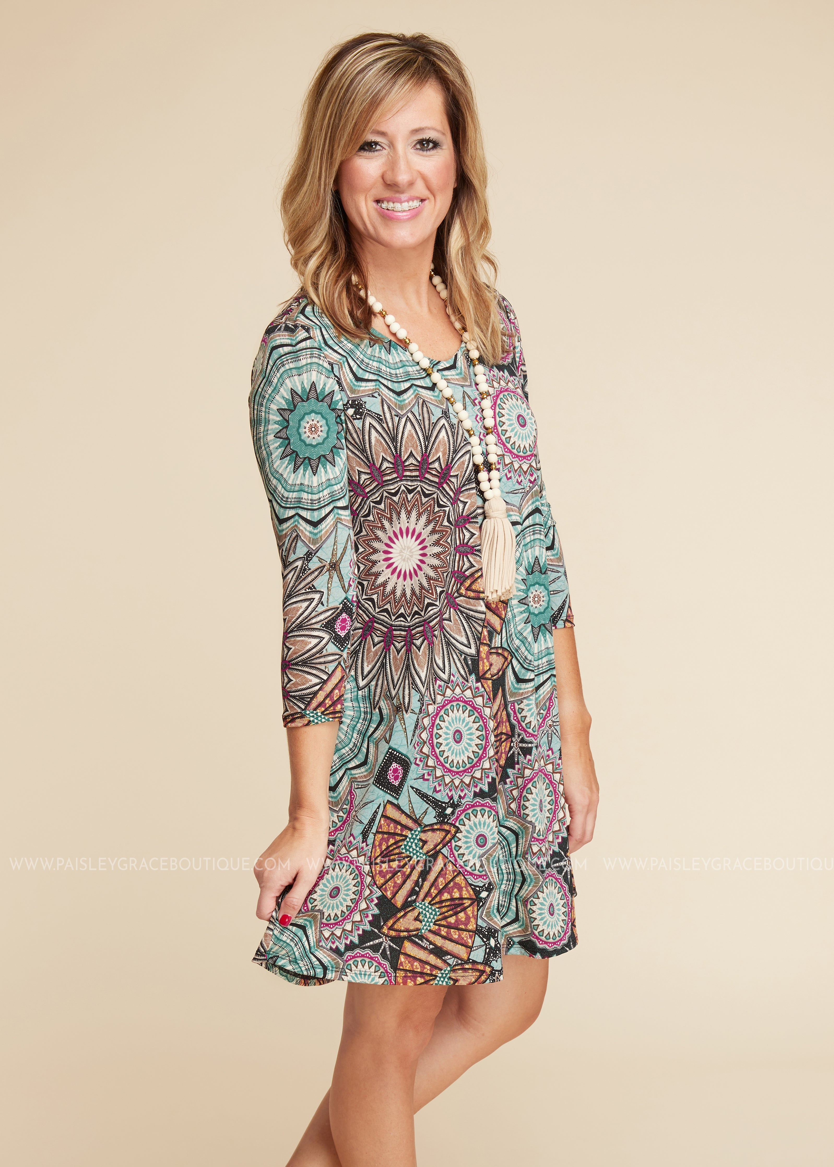 Winding Road Dress
