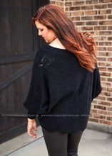 Load image into Gallery viewer, Wonderland Sweater- BLACK