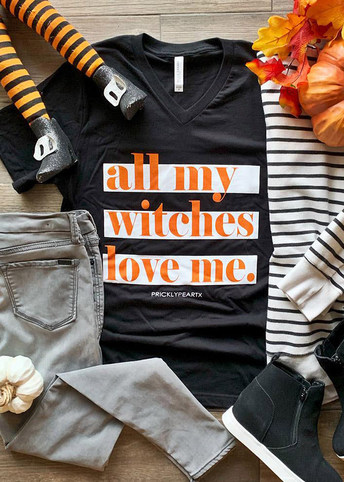 All My Witches Love Me Tee - FINAL SALE