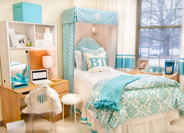 The Dorm Room Bed - How to Make it the STAR of the Room