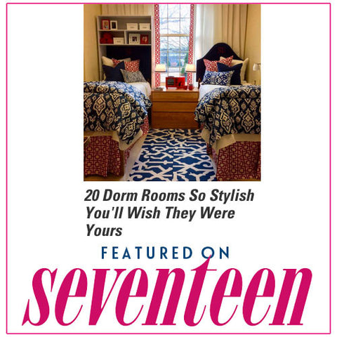 Dorm Decor Featured in Seventeen!