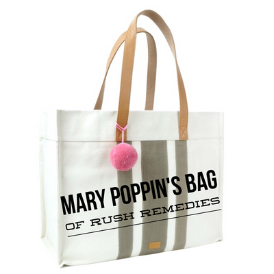 Mary Poppin's Bag of Rush Remedies